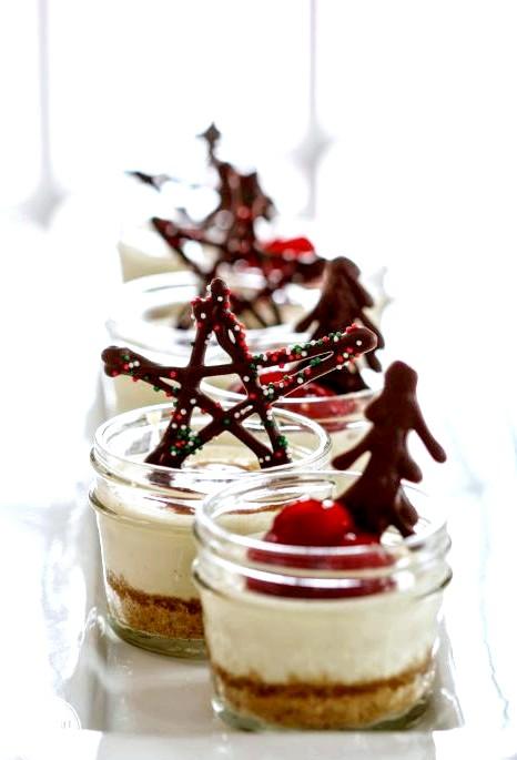 Подарунковий чізкейк до Нового Року та Різдва: