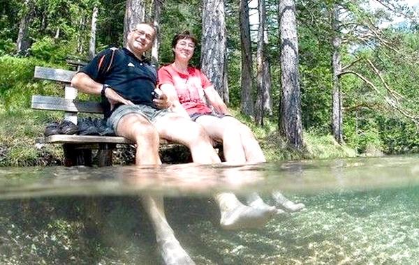 Підводний парк Зеленого озера: