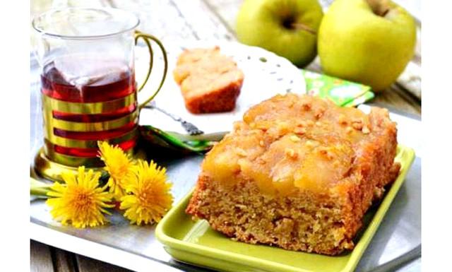 Пісний яблучний пиріг-перевертиш: Інгредієнти для
