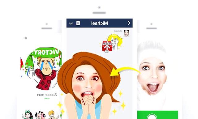 Додаток, який дозволяє створювати стікери з Селфі: Перше, користувачі роблять фотографію свого обличчя і вибирають популярного персонажа з більш ніж 130 ілюстрацій, об'єднаних в 17 чудових тим,