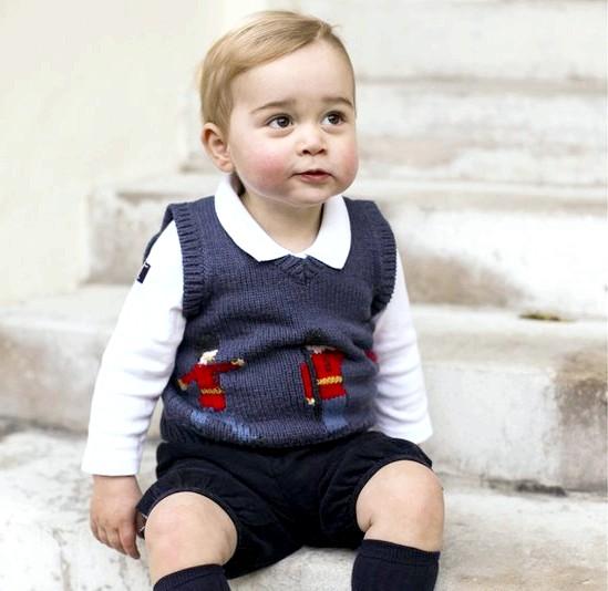 Принц Джордж Різдвяні фотографії: