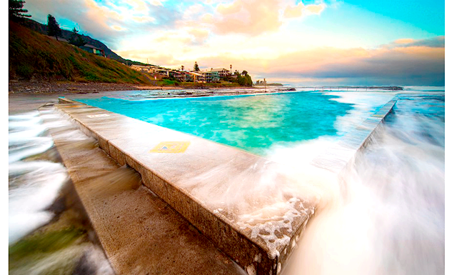 Подорож для двох Басейн Океан біля пляжу Колдейл, Уельс, Австралія