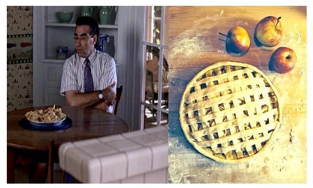 Рецепти улюблених страв кіноперсонажів: Американський яблучний пірогЯблочний пиріг - це традиційний американський рецепт. Однак однойменний фільм далекий від традицій.