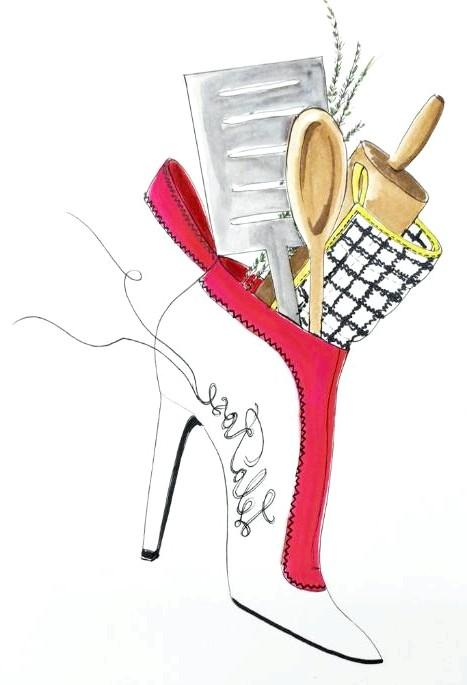 Різдвяні панчохи очима модних дизайнерів: [center] [i] Lela Rose [/ i] [/ center]