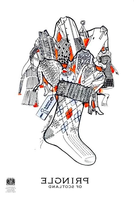 Різдвяні панчохи очима модних дизайнерів: [center] [i] Pringle of Scotland [/ i] [/ center]