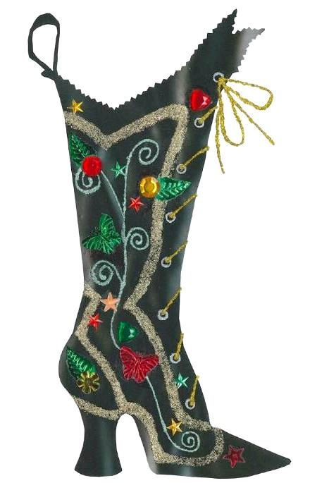 Різдвяні панчохи очима модних дизайнерів: [center] [i] Anna Sui [/ i] [/ center]