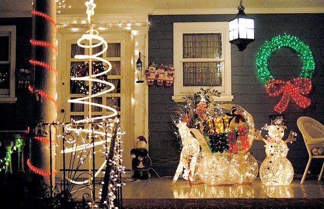 Різдвяні вулиці США: Парк Ditmas, БруклінАльтернатіва блиску і натовпам площі Рокфеллер, парк Ditmas в Брукліні - підходить для сімей,