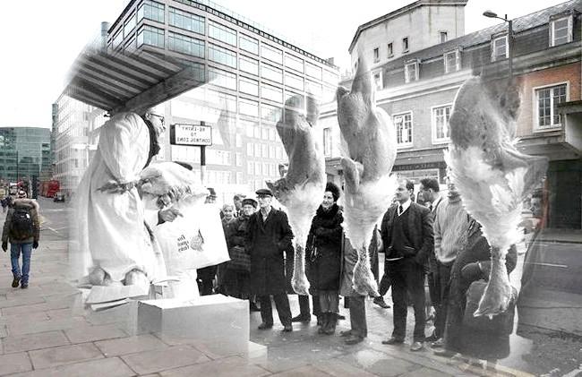 Різдво через призму часу: Ринок Смітфілд, сучасність і 1968