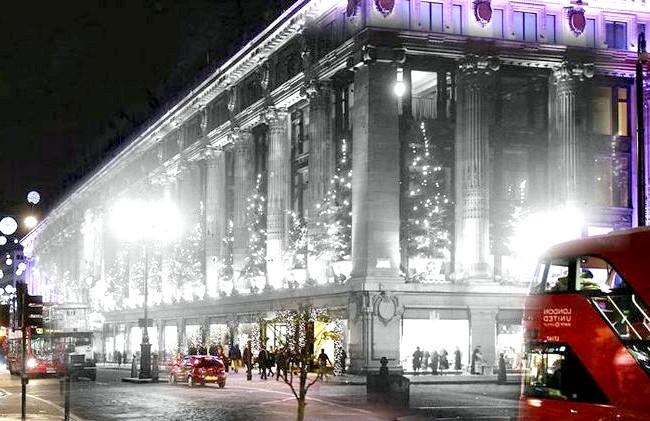Різдво через призму часу: Універмаг Selfridges, сучасність і 1935