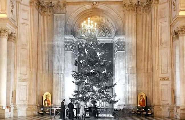 Різдво через призму часу: Собор Святого Павла, сучасність і 1950