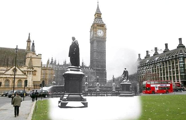 Різдво через призму часу: Площа Парламенту, сучасність і 1938