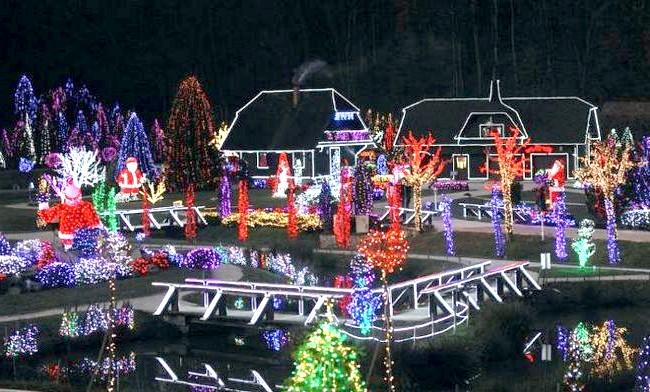 Різдво і Новий рік у різних країнах світу: Хорватія. Новорічні сюжети в парку в 100 кілометрах від Загреба.
