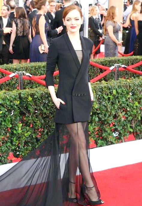 SAG Awards 2014: вбрання зірок: Емма Стоун