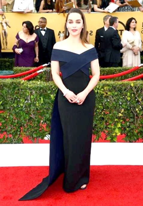 SAG Awards 2014: вбрання зірок: Емілія Кларк