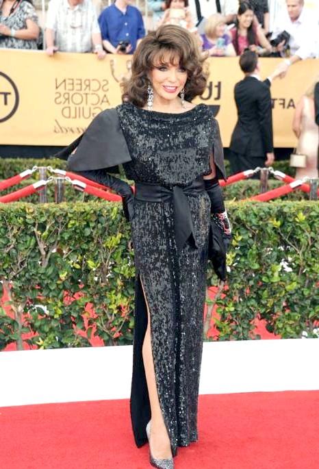 SAG Awards 2014: вбрання зірок: Джоан Коллінз