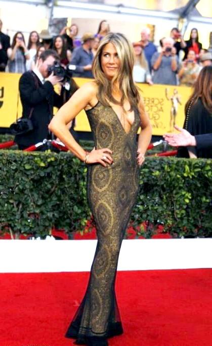 SAG Awards 2014: вбрання зірок: Дженніфер Еністон