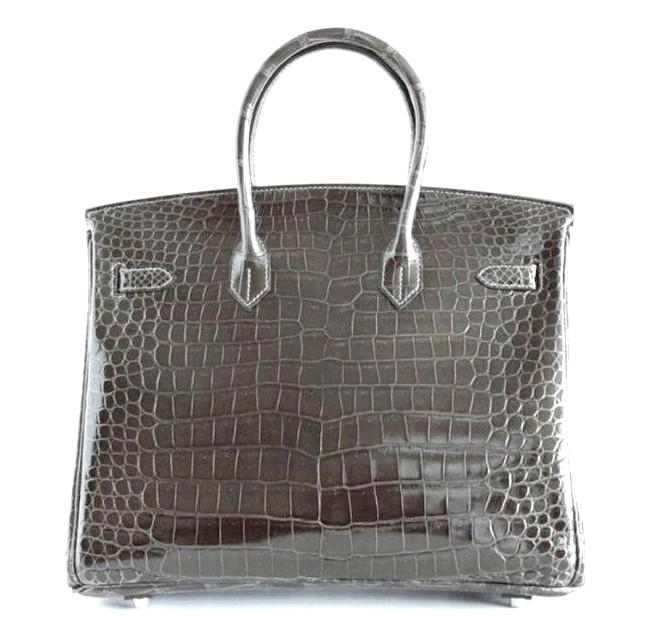 Самі ексклюзивні сумки в світі: Hermes. Ціна $ 85,000.Марка Hermes відома своїми розкішними аксесуарами: сумки, гаманці, ремені, краватки, шарфи. Ця сумка з