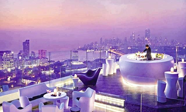 Самі незвичайні даху: Бар на даху, Мумбаї, Індія