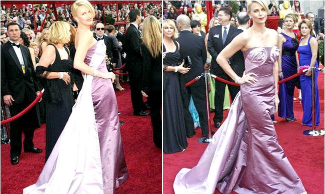 Найневдаліші образи, представлені на червоній доріжці: Шарліз Терон - 82-а церемонія «Оскар» 2010 год.Когда Мадонна одягла свій бюстгальтер з конічними чашечками, все