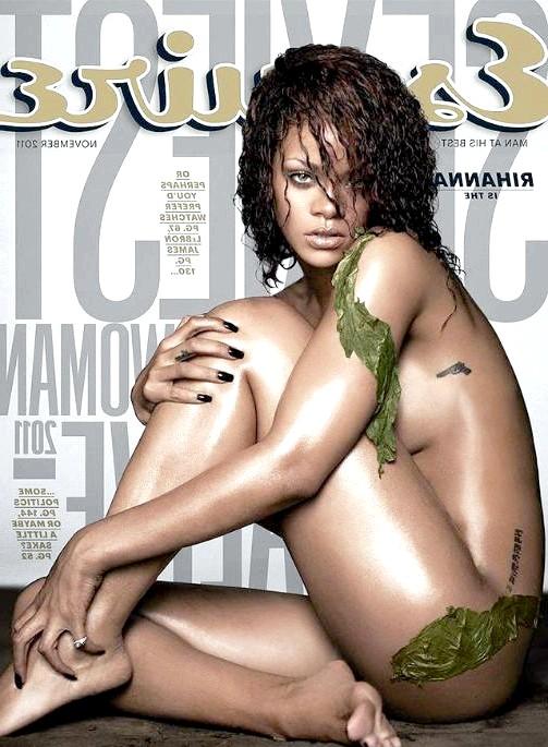 Найсексуальніші жінки за версією журналу Esquire: РіаннаПевіца Ріанна в листопаді 2011 року була визнана найсексуальнішою жінкою за версією журналу Esquire.