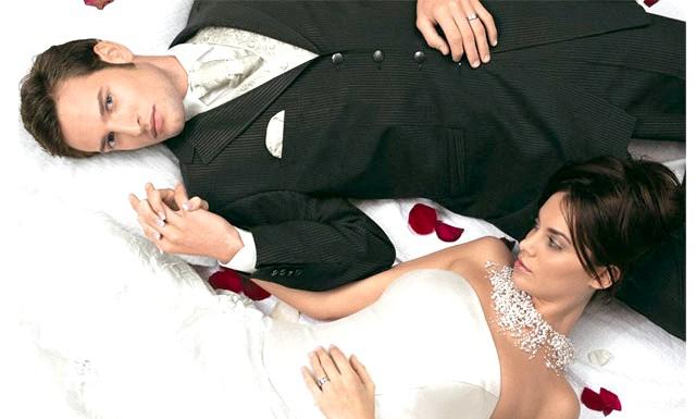 Секс в першу шлюбну ніч - міф для більшості молодят: В опитуванні, проведеному у Великобританії, взяли участь 2138 пар, які одружилися протягом останніх трьох років.