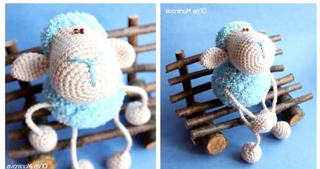 Символ року-2015: овечки своїми руками: Мюзетта