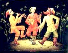 Скоморохи: історія виникнення явища скоморошества і його музичні особливості.
