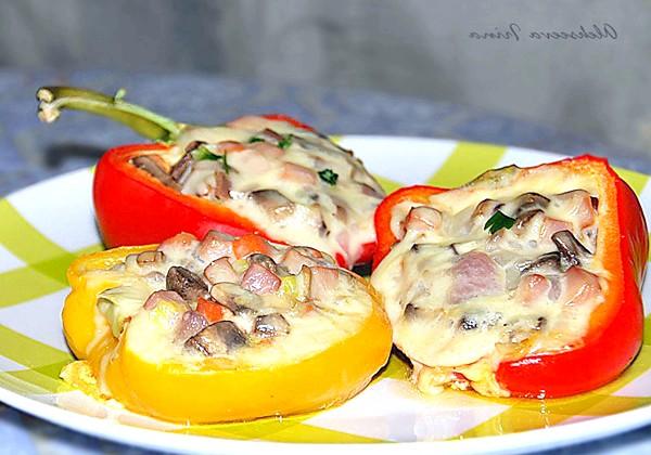 Солодкий перець з моцарелою: Приємного апетиту! Рецепт з журналу