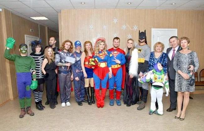 Весілля суперменів відбулася в Іркутській області: