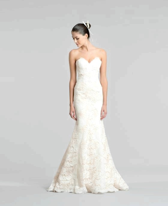 Весільна колекція Carolina Herrera, осінь 2015: