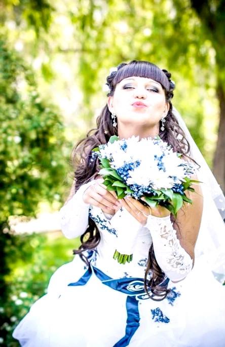 Весільний образ очима еварушніц: Автор фото: arina-pov
