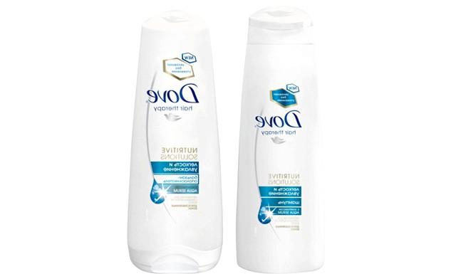 Топ-10 засобів для зволоження волосся: Шампунь і бальзам-ополіскувач «Легкість і зволоження», DoveКомплекс AQUA SERUM, що входить до складу нових засобів, містить амінокислоти