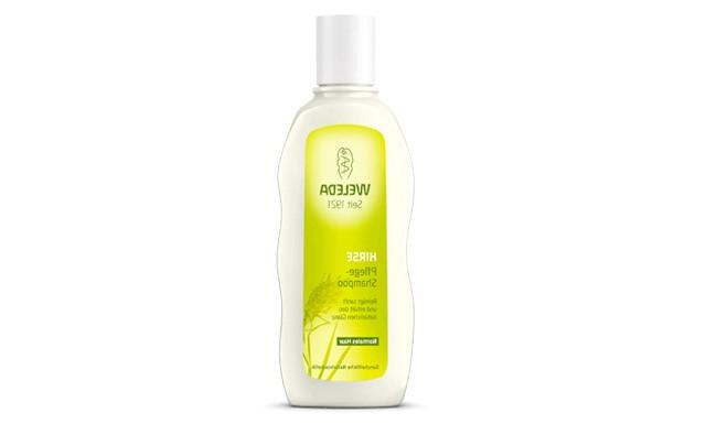 Топ-10 засобів для зволоження волосся: Шампунь-догляд з екстрактом проса WeledaМягкій шампунь делікатно очищає і повертає природну еластичність волосся. Входять до складу