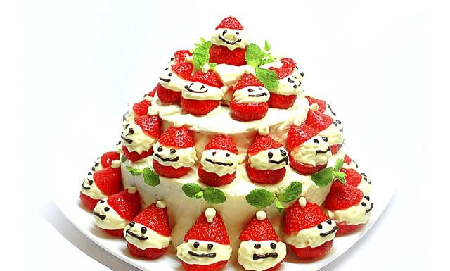 Торт Веселі гномики: Інгредієнти для торта: Бісквіт: 9 яєць 9 ст / л цукру 9 ст / л борошна