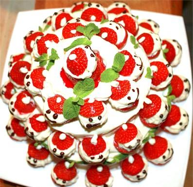 Торт Веселі гномики: А так виглядає торт зверху :)