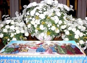 Тропар та кондак Успіння Пресвятої Богородиці - ноти святкових співів на Гласова розспіви