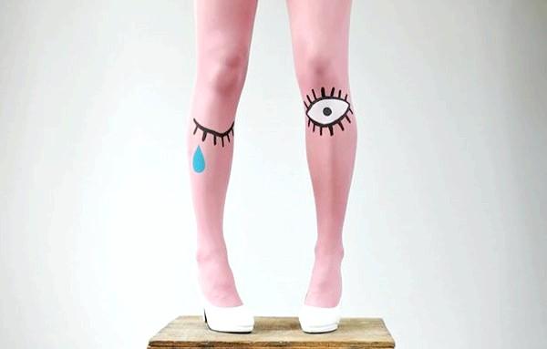 Утепляемся до осені: оригінальні шкарпетки, панчохи та колготки: Для оптимістів і не дуже.