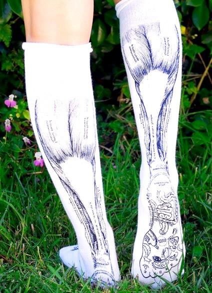 Утепляемся до осені: оригінальні шкарпетки, панчохи та колготки: