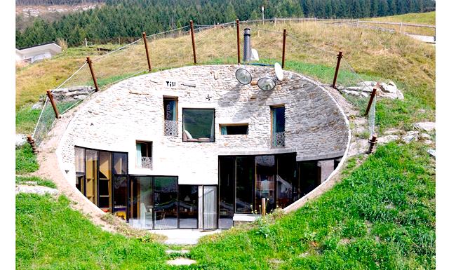 Вілла Вальс в Швейцарських Альпах: