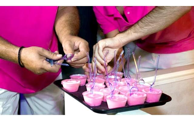 У Франції випустили морозиво з рожевого вина: