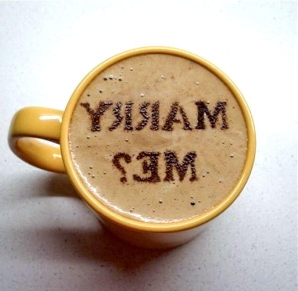 Виходь за мене ?: [i] З ранковою кавою [/ i]