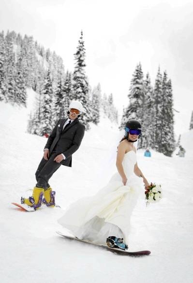 Зимове весілля - це чарівно: