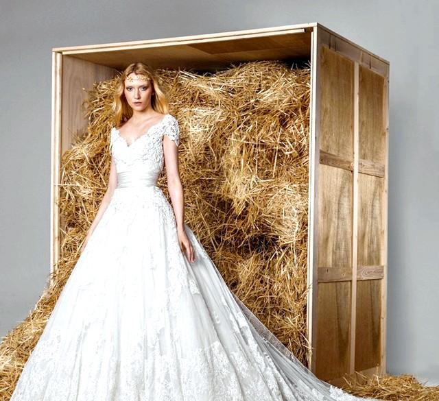 Zuhair Murad представив весільну колекцію весна-2015: