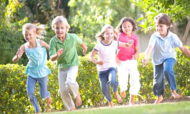 Ігри на свіжому повітрі допоможуть дитині краще вчитися