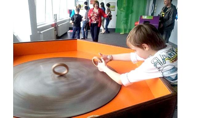 Експеріментаніум - музей цікавих наук у Києві: