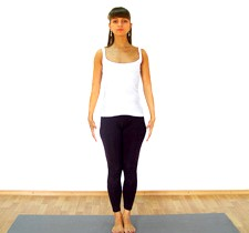 Йога для початківців: Вправа № 1Поза гори (Тадасаї) - це вихідне положення, з нього починаються практично будь-який комплекс вправ
