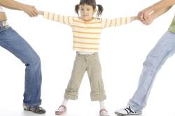 Розділ майна при наявності неповнолітньої дитини