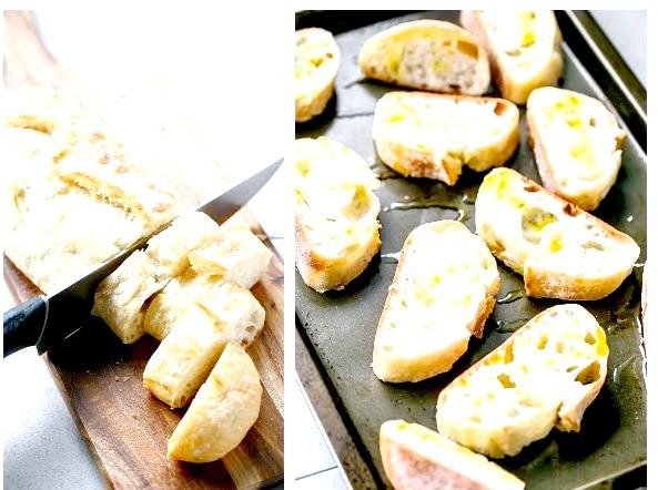Кростіні з авокадо, креветками і часником: 3. Готуємо креветки. Беремо глибоку миску, викладаємо в неї креветки, видавлюємо часник, додаємо паприку, лимонний сік, сіль, перець. Ретельно перемішуємо.