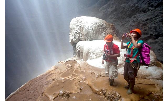 Подорож по острову Ява: печера Джомбланг (Goa Jomblang):