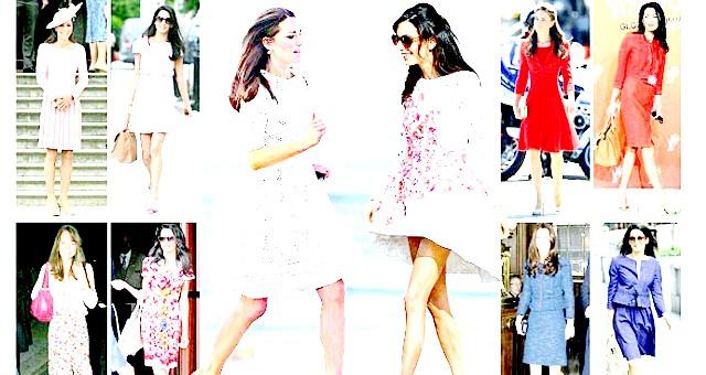 Стиль Кейт Міддлтон проти стилю Амаль Аламуддін: Почнемо зі весільної сукні.